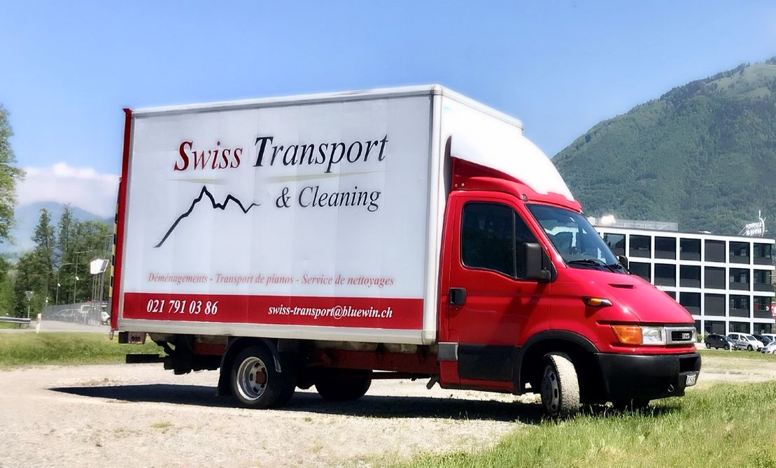 Swiss transport & cleaning - noville - masse lourde